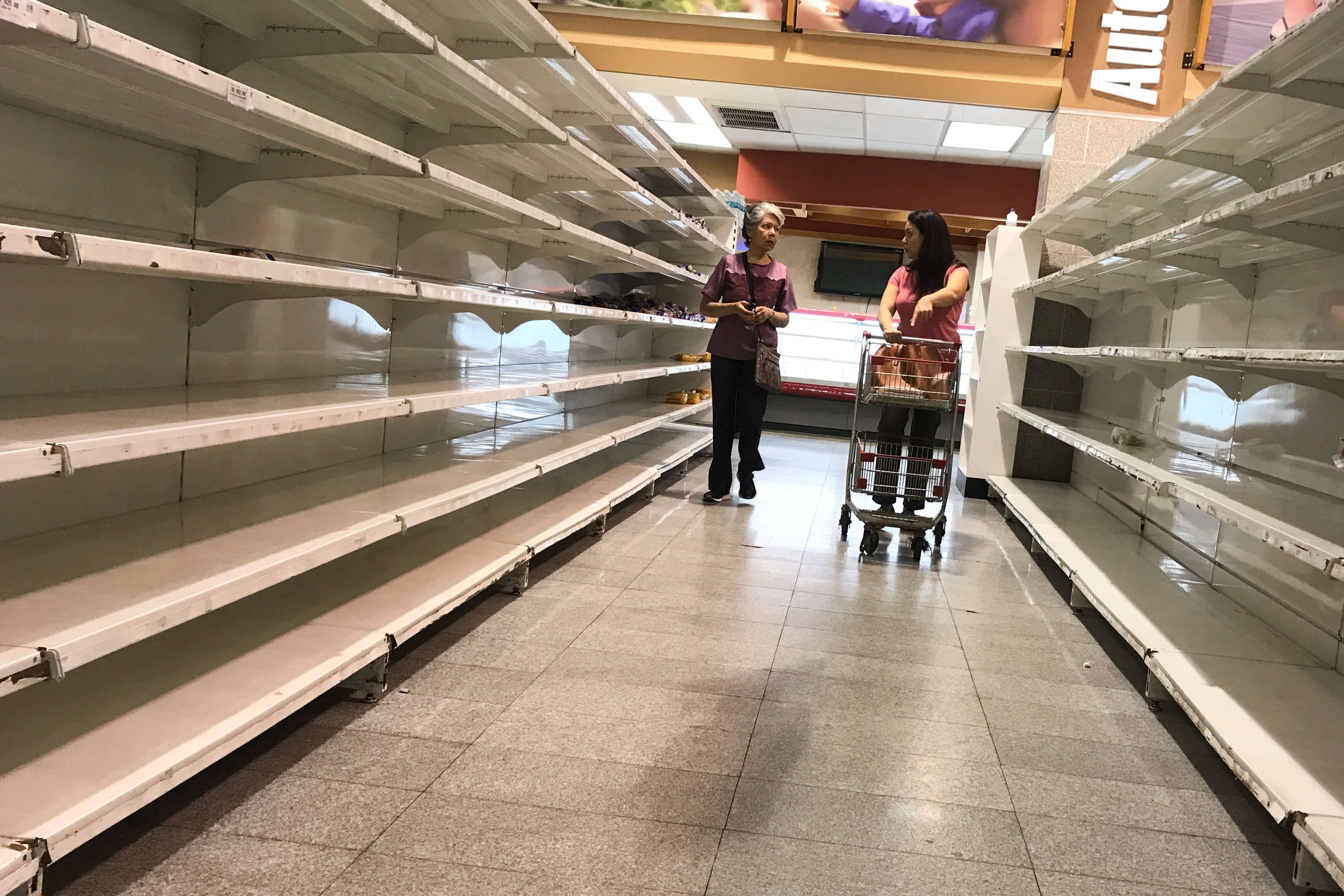 Persisten saqueos comercios falta alimentos Venezuela
