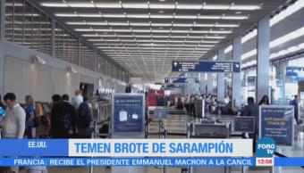 Estados Unidos reporta 2 casos con sarampión en aeropuerto de O´Hare, Chicago