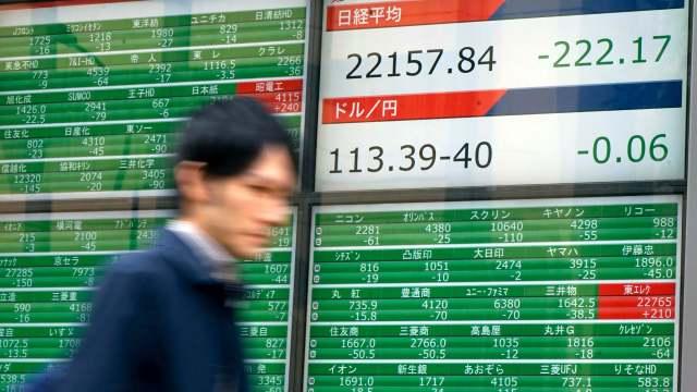Se fortalece el yen y tira la Bolsa de Tokio