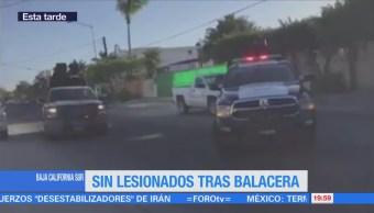 Registra Balacera Bcs 5 Detenidos Baja California Sur