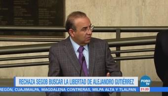 Segob rechaza buscar la libertad de Alejandro Gutiérrez