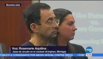 Sentencian a Larry Nassar por abuso de más de 150 deportistas