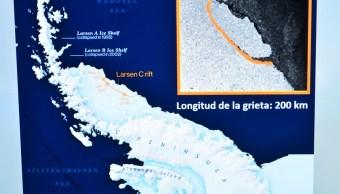 Deshielo de iceberg de la Antártida sería una catástrofe