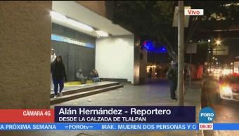 Sigue alerta roja por frío en la Ciudad de México
