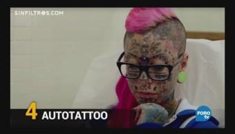 Sin Filtros Mujer Más Tatuada Europa