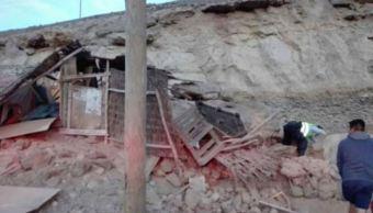 Sismo de magnitud 6.8 deja al menos dos muertos y 65 heridos en Perú
