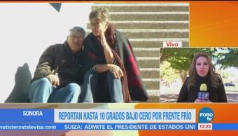 Sonora Mantiene Alerta Llegada Frente Frío 25