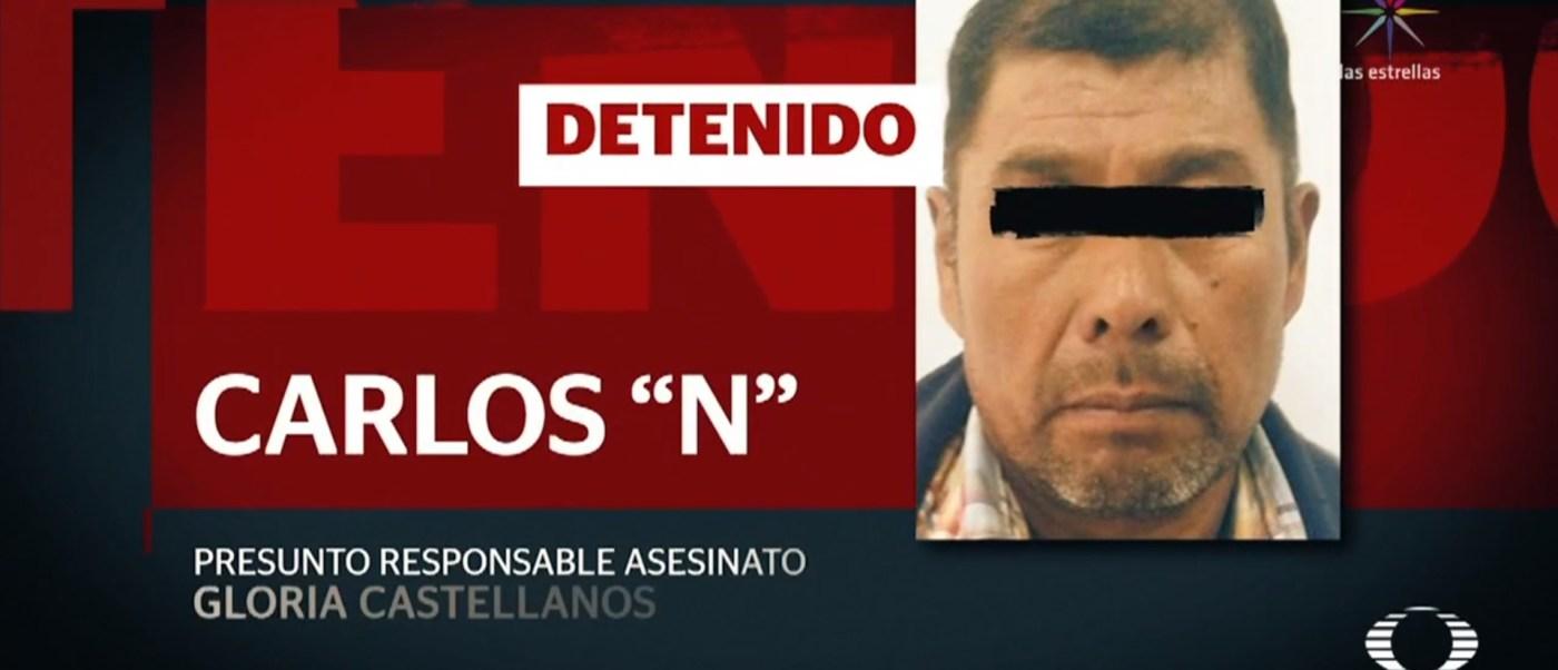 Suman tres detenidos por feminicidio de Gloria Castellanos