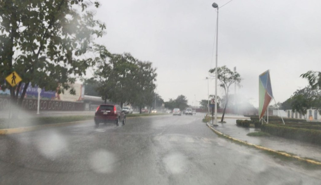 frente frio 24 provoca lluvias y bajas temperaturas tabasco y campeche