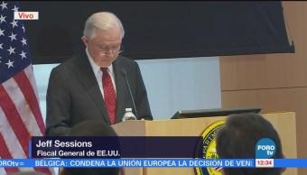 Tenemos Obligación Poner Filtros Llegada Inmigrantes Jeff Sessions
