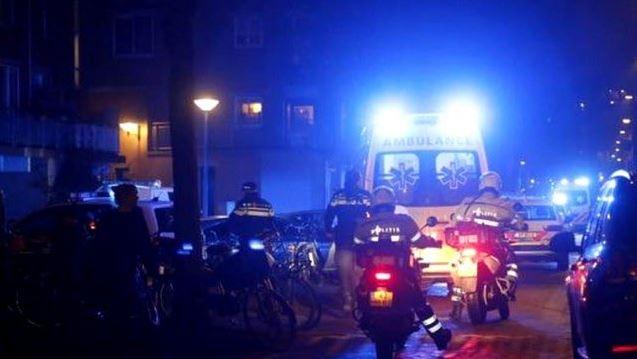 Tiroteo en Amsterdam deja al menos un muerto y dos heridos