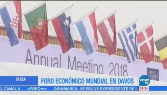 Todo listo para el 48 Foro Económico Mundial de Davos