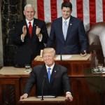 Trump pide Congreso olvidar diferencias y trabajar Estados Unidos