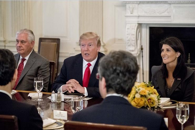 Trump considera gran logro si durante su mandato une Estados Unidos