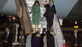 los viajes donald trump como presidente estados unidos