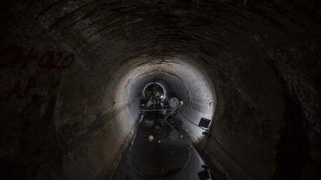 Robot del Sistema de Aguas CDMX verifica condiciones del drenaje