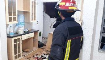 Explosión por acumulación de gas afecta departamento de Zapopán