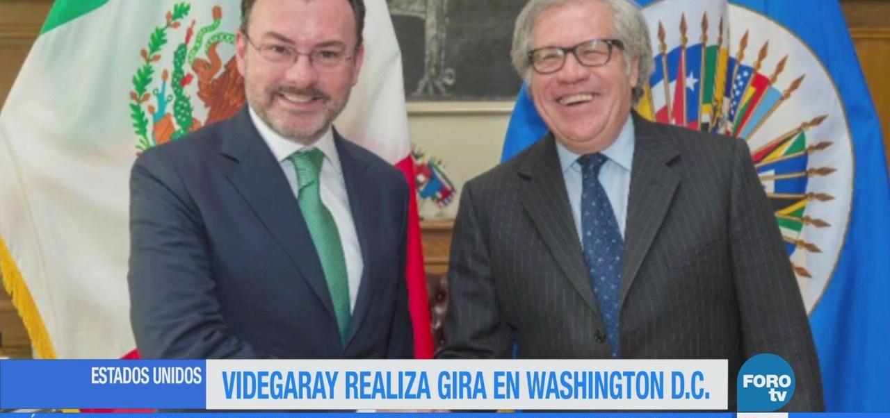 Videgaray realiza gira de trabajo por Washington