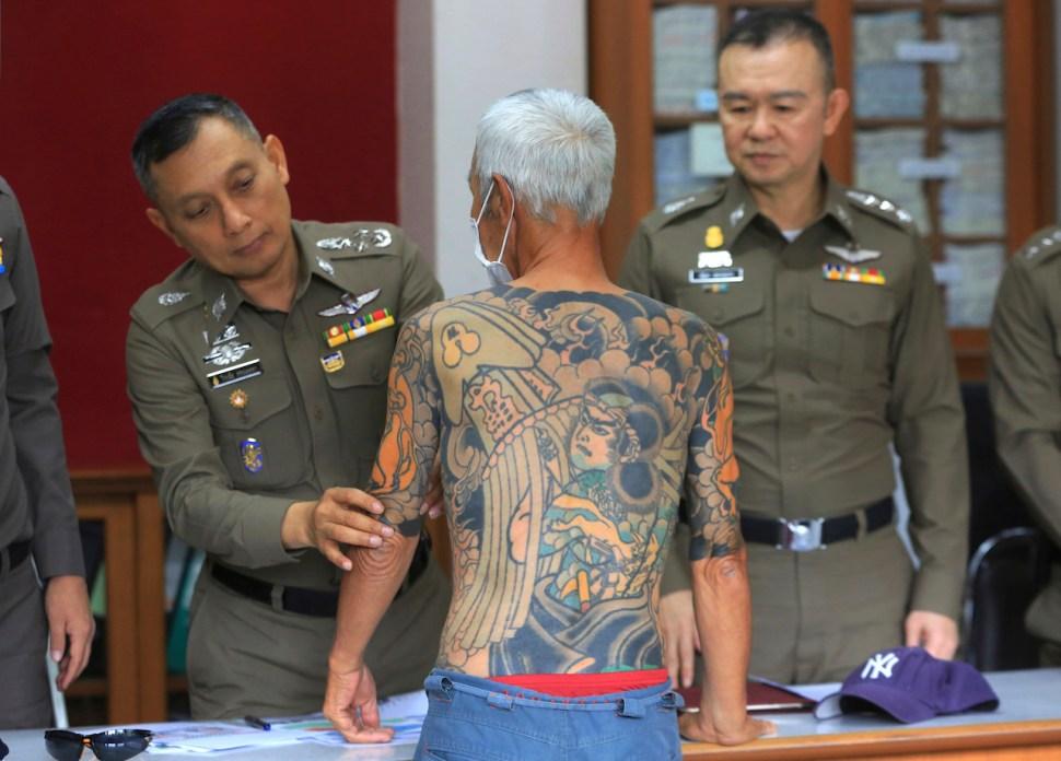 yakuza, Japón, Tailandia, tatuajes