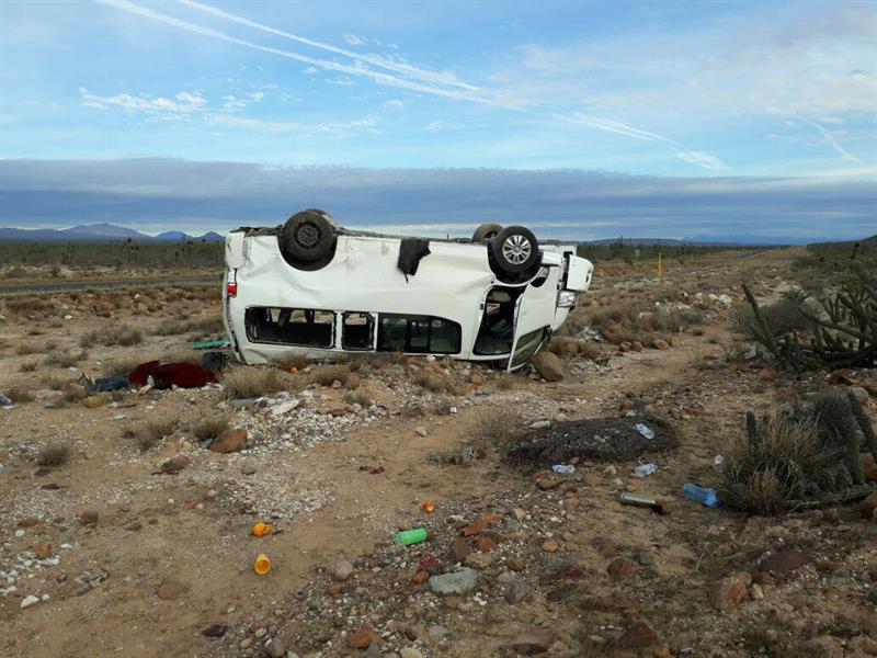sufre accidente automovilistico maria jesus patricio marichuy