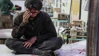 ataque suburbio damasco deja 98 muertos observatorio sirio