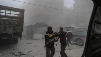 explosiones rompen pausa humanitaria guta oriental confirma onu