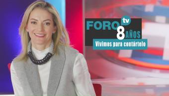 8 años de FOROtv: Ana Paula Ordorica