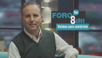 8 años de FOROtv: Esteban Arce