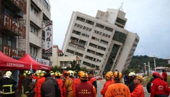 Taiwán registra nuevo sismo de magnitud 5.7