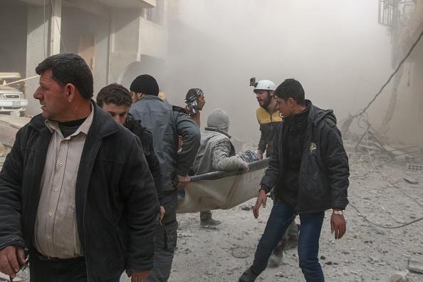 Reportan 29 muertos por ataques cerca de Damasco y Siria