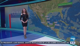Clima A Las Tres Mayte Carranco Sistema Frontal