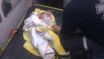 Abandonan a bebé en la delegación Iztapalapa