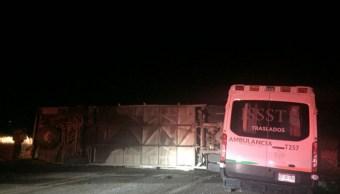 Accidente en la carretera Chihuahua-Parral deja dos muertos