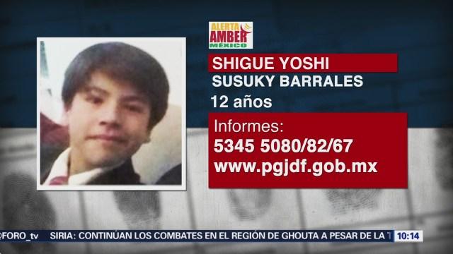 Activan Alerta Ámber para localizar a menor extraviado en Xochimilco