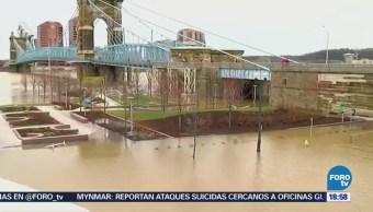 Al menos cuatro muertos por tormentas en Cincinnati Estados Unidos