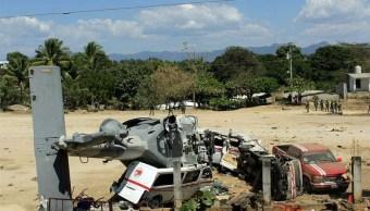 Alcalde de Jamiltepec desconocía protocolos del Ejército para aterrizar helicóptero