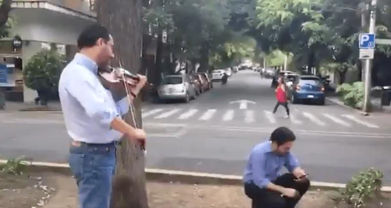 Sismo hoy, Sismo de hoy, Sismo en Mexico, Violinista