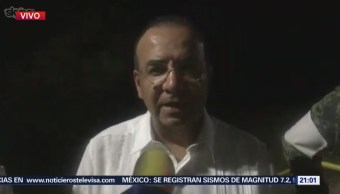 Alfonso Navarrete llega a Oaxaca para recorrer afectaciones por sismo de 7.2 grados