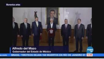 Alfredo Del Mazo anuncia nombramientos en su gabinete