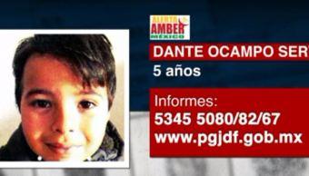Activan Alerta Amber para localizar a menor extraviado en Coyoacán