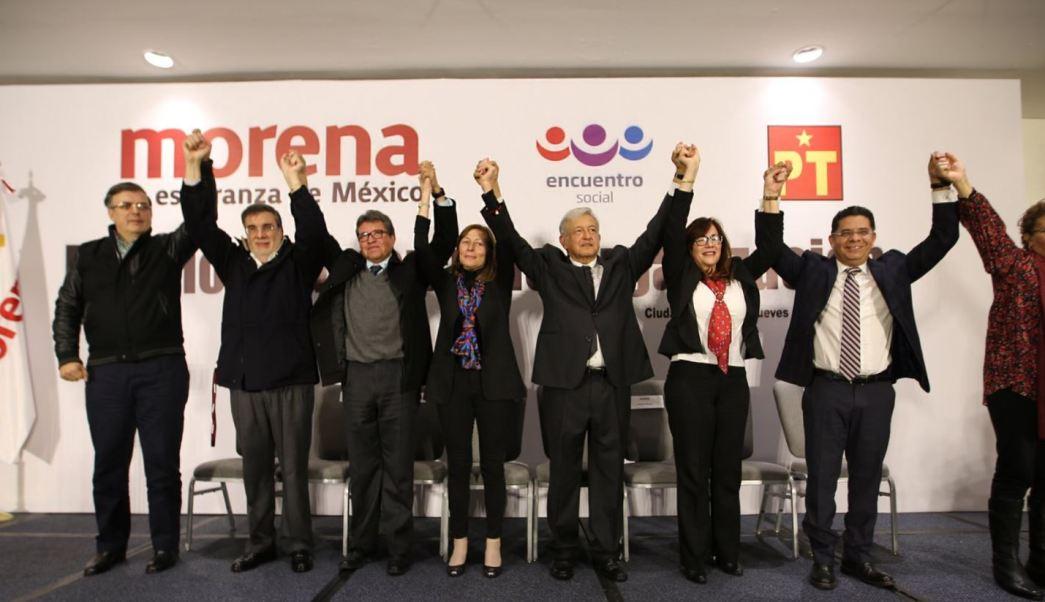Resultado de imagen para López Obrador, Ricardo Monreal y Marcelo Ebrard