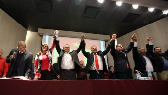 amlo rinde protesta candidato pt presidencia