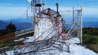 reportan segunda antena alertamiento sismico danada oaxaca
