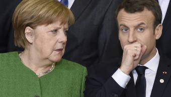 Merkel y Macron apremian a Putin a presionar a Siria para que cesen combates