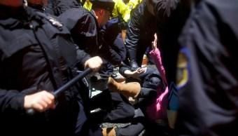 Arrestan a tres personas en Philadelphia durante celebraciones del Super Bowl