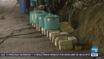 Aseguran laboratorio ilegal en Jalisco