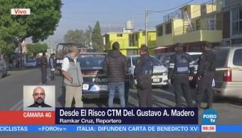 Asesinan a enfermera en la colonia El Risco CTM, delegación GAM
