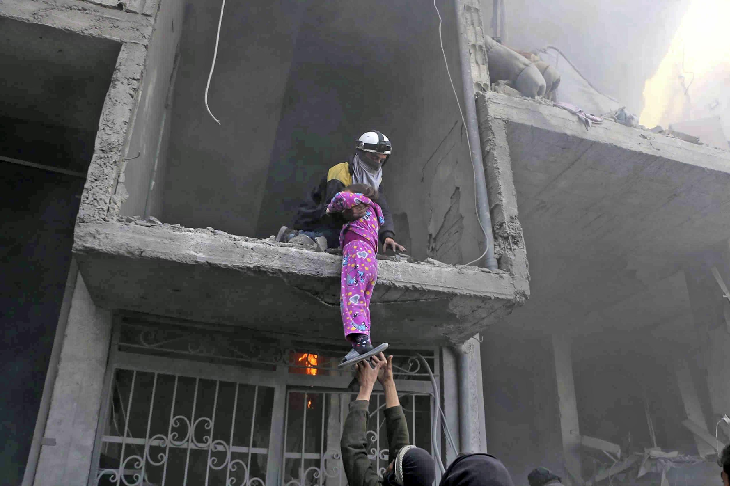 13 hospitales están fuera de servicio por ataques en Guta Oriental — Siria