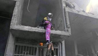 Kremlin rechaza acusaciones de bombardeos rusos en Guta Oriental, Siria