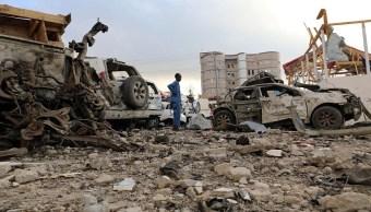 Suman 45 muertos por atentado en palacio presidencial de Somalia